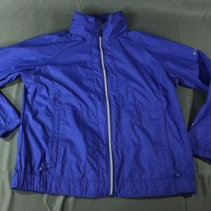 Columbia Packable Windbreaker with Pop Out Hood
